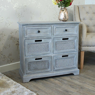 Grey washed chest of drawers furniture  bedroom furniture storage grey wood unit