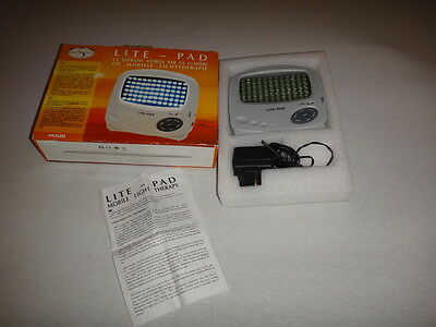Spirit of Beauty Mobile Sad Lite Light Pad Therapy With Soothing Sounds 5000 LUX