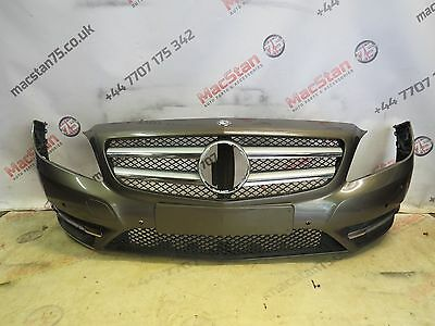 Mercedes W246 B Class Genuine Front Bumper In Grey 2013-On