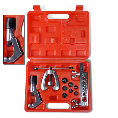 Flaring Tool Kit Set Pipe Flare Tube Bender Portable Case High Quality Workshop