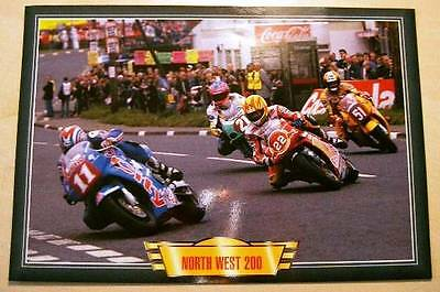 North West 200 Classic Road Race Racing  Action Motorcycle Bike Picture Colour