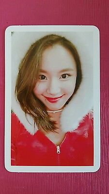 TWICE CHAEYOUNG Official PHOTOCARD Base Christmas Edition TWICEcoaster LANE1 채영