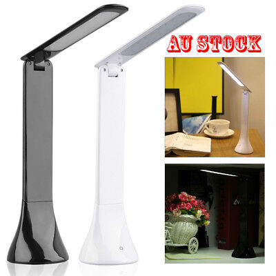 3 Modes Foldable LED Desk Bedside Reading Lamp Table Study Light Touch Control