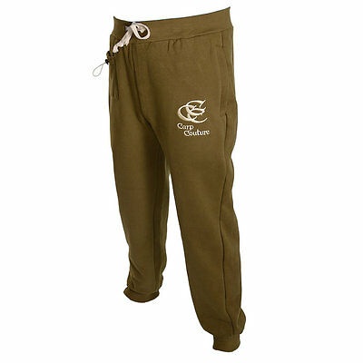 Mens Carp Couture Joggers - Green