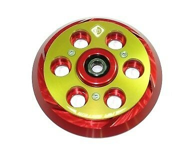 Ducabike Ducati Dry Clutch Pressure Plate Air System PSF01 - Red-Gold