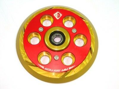 Ducabike Ducati Dry Clutch Pressure Plate Air System PSF01 - Gold-Red