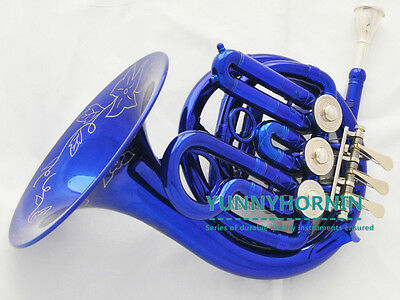 SALE! AAAAA+ Blue BB FRENCH HORN Professional Quality Brand New With Case