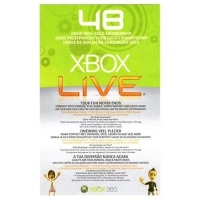 Xbox Live Gold Membership 48 hours (2 day) Download Code