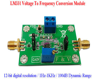 LM331 12-bit digital Precision Voltage To Frequency Conversion Module 1Hz-1KHz