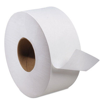 Tork Advanced Jumbo Roll Toilet Tissue, 2-Ply, 1000ft Roll, White, 12...
