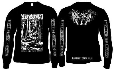 MOLOCH Black Metal Longsleeve Limited Edition Official Merchandise * M TO XXL