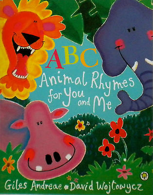 ABC CHILDREN'S PICTURE BOOK Animal Rhymes for You and Me new