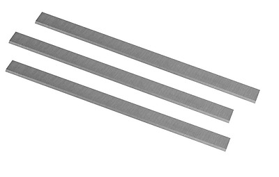 POWERTEC 15-Inch HSS Planer Knives for Grizzly G0453, Set of 3
