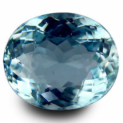 2.165Cts Awesome Collection Stunning Blue Natural Aquamarine Oval Loose Gemston