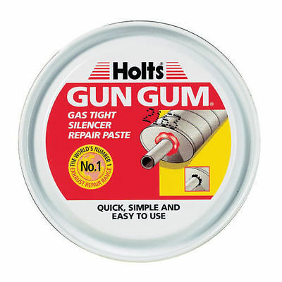 HOLTS GUN GUM GAS TIGHT EXHAUST SILENCER REPAIR PASTE PUTTY (200g) SALE NOW ON