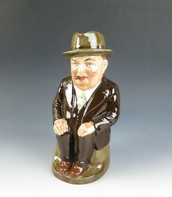 Royal Doulton LIMITED ED. Brown CLIFF CORNELL Cleveland Flux Company Toby Jug