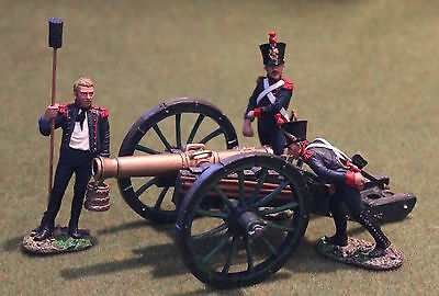 King And Country Na195 Napoleonic French Cannon Set Toy Soldiers Britains