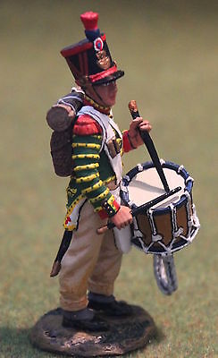 King And Country Na231 Napoleonic French Line Drummer Toy Soldiers Britain