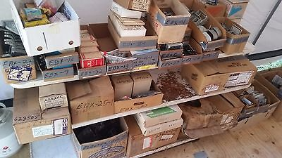 Electrical Supplies - large lot of assorted fittings, wire, outlets, plugs etc.