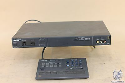 Sony Multi-Video Titler XV-T550 with Remote