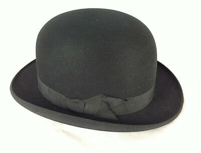 VINTAGE G A Dunn & Co Bowler Hat Size 7 - Made in England