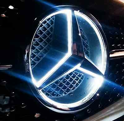 Emblema insignia con LED  parrilla Mercedes AMG Benz Clase C W204 C180 Coupe GL