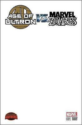 Age Of Ultron Vs. Marvel Zombies #1 Blank Cover Variant | BRAND NEW/UNREAD