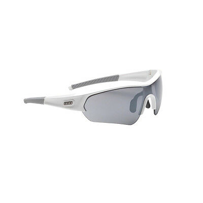 BBB BSG-43 Select Sport Sunglasses Interchangeable 3 Lenses Gloss White