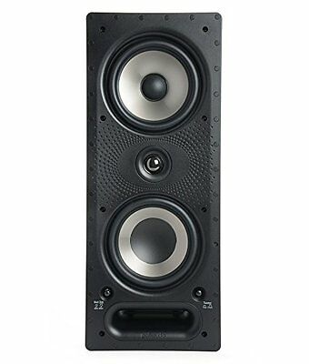 Polk Audio 265-RT In Wall 3-Way Speaker With Wafer Thin Sheer Grill 200w 8omh