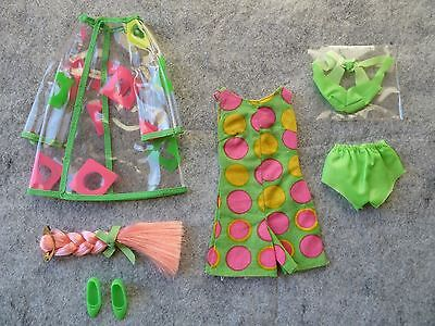 Vintage Barbie - Francie's Complete Pazam! Outfit with HTF Pieces - VGC!!!