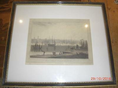 Liverpool, taken from the opposite side of the River, by William Daniell