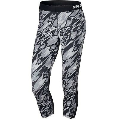 Nike Dry-Fit Womens Gym Running 3/4 Bottoms Leggings BNWT FREEPOST