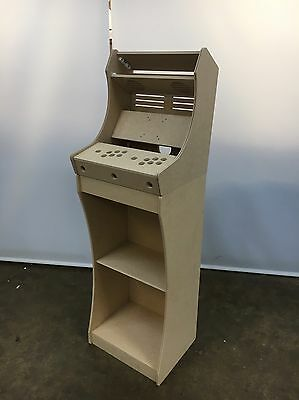 DIY Bar Top Arcade Cabinet Kit WITH BASE AND T MOLDING SLOT