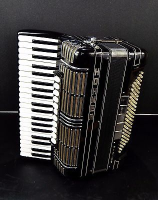 HOHNER MORINO IV N 120 BASS, 16 sw.~RARE PROFESSIONAL TOP CASSOTTO ACCORDION~GER