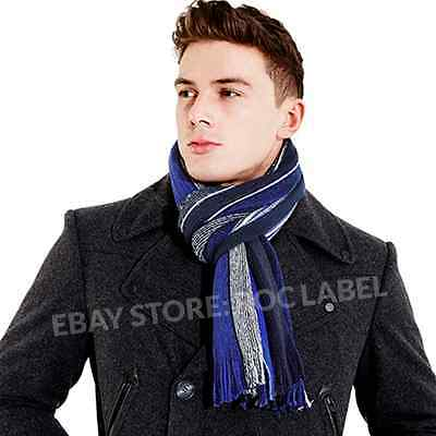 New Mens Soft Touch Winter Scarf – Mens Wrap Scarves