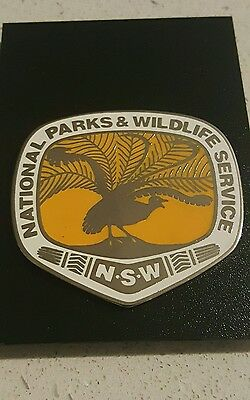NSW National Parks and Wildlife Service Badge  (not police)