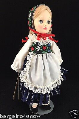 """Effanbee Heidi 11"""" Playsize Collector's Doll USED"""