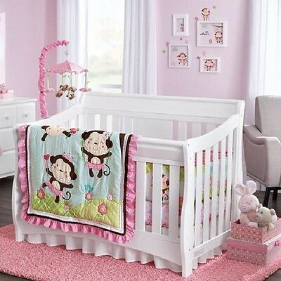 Baby's First by Nemcor 5-Piece Crib bedding Set Jungle Princess