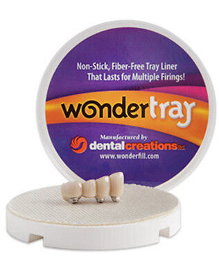 WonderTray Non-Stick, Fiber-Free Tray Liner For your dental lab furnace oven