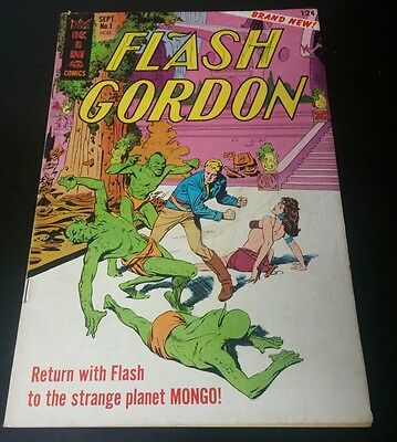 Flash Gordon #1 (Sep 1966, King Features) 1st Silver Age Appearance