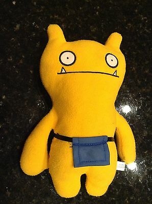Ugly Doll Yellow Plush stuffed animal with apron