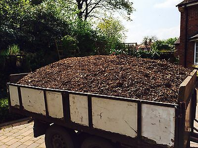 Selected wood chippings  Very Large Load  Delivery Local Best Quality