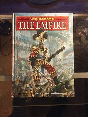 The Empire Army Book - Warhammer Fantasy 8th Edition OOP