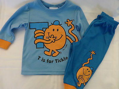 Children's Mr Tickle pyjamas BNWOT Size 0