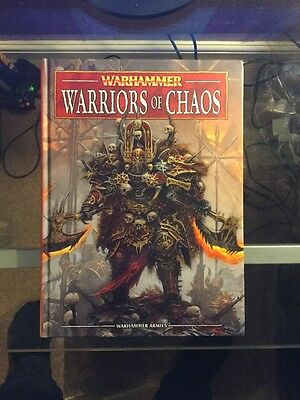 Warriors Of Chaos Army Book - Warhammer Fantasy 8th Edition OOP