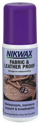 NEW Nikwax Fabric & Leather Proof 125ml from Outdoor Adventure Gear