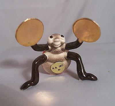 Hagen Renaker LADYBUG Beetle with Cymbals from HR BUG BAND