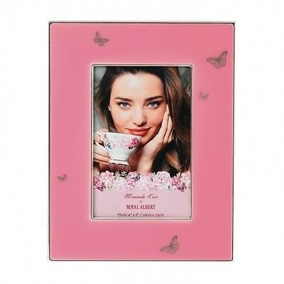 "Miranda Kerr for Royal Albert 4x6"" Picture Frame - Pink - RRP $149.00 - LAST 8!"