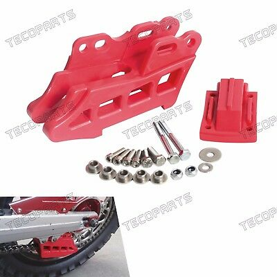 Red Plastic Rear Chain Guide for CRF250L/M 2012-2015 XR250/Baja/Motard 1995-2007