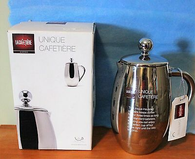 LA CAFETIERE  French Coffee Press 3 Cup 12 Ounce UNIQUE CAFETIERE New in Box